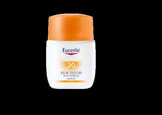 Eucerin matirajući fluid za lice za zaštitu od sunca SPF 30