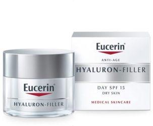 Eucerin Hyaluron-Filler dnevna krema za suhu kožu s SPF 15 i UVA zaštitom