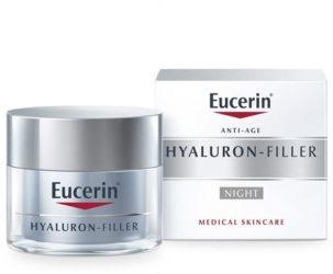 Eucerin Hyaluron-Filler krema s hijaluronskom kiselinom za noćnu njegu