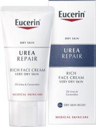 Eucerin Urea Repair bogata noćna krema za lice s 5% ureje
