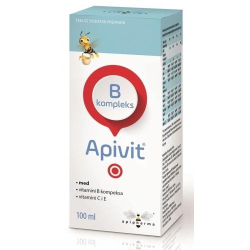 Apipharma Apivit B kompleks 100 ml