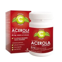 acerola tbl za žvakanje 30 x 40 mg