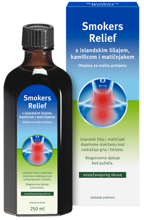 Smokers relief otopina