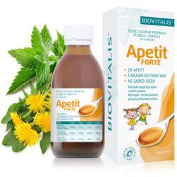 Biovitalis APETIT FORTE tekući dodatak prehrani 200 ml