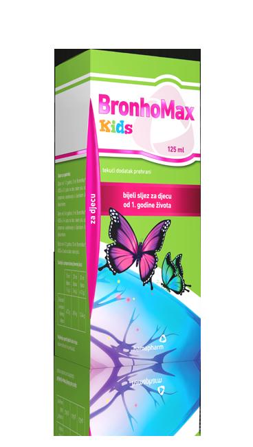 BronhoMax Kids tekući dodatak prehrani