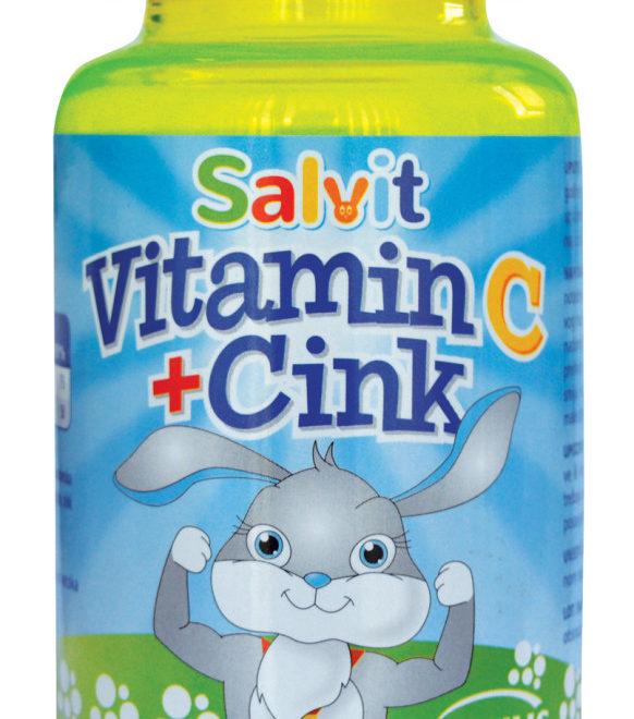 Salvit Vitamin C + Cink žele bomboni