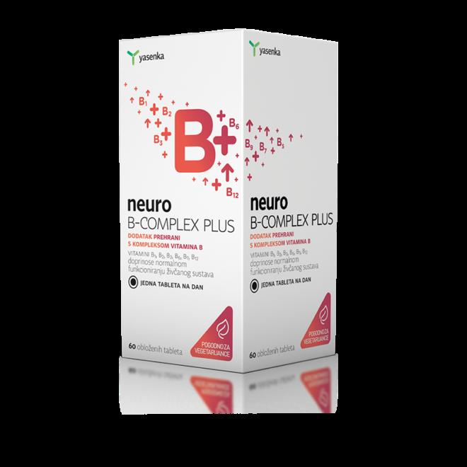 Yasenka neuro B-COMPLEX PLUS tablete