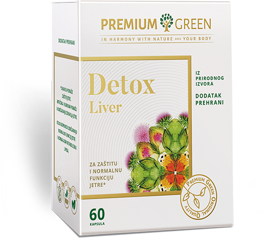 Premium Green Detox Liver
