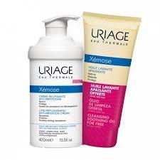 Uriage Xemose emolijent krema 400 ml+Xemose ulje za kupanje 200 ml 1+1 gratis