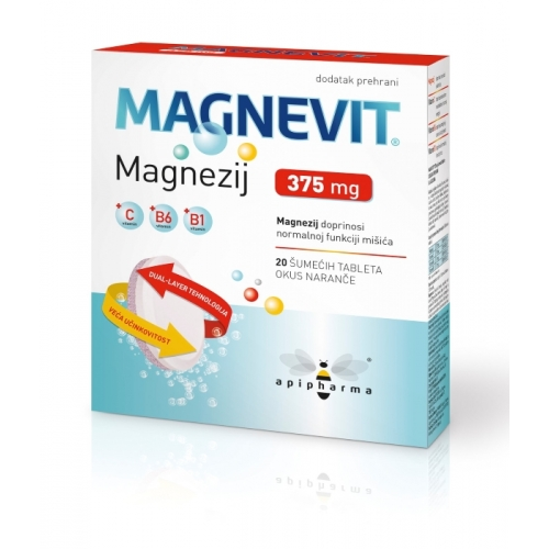 Apipharma Magnevit 375mg