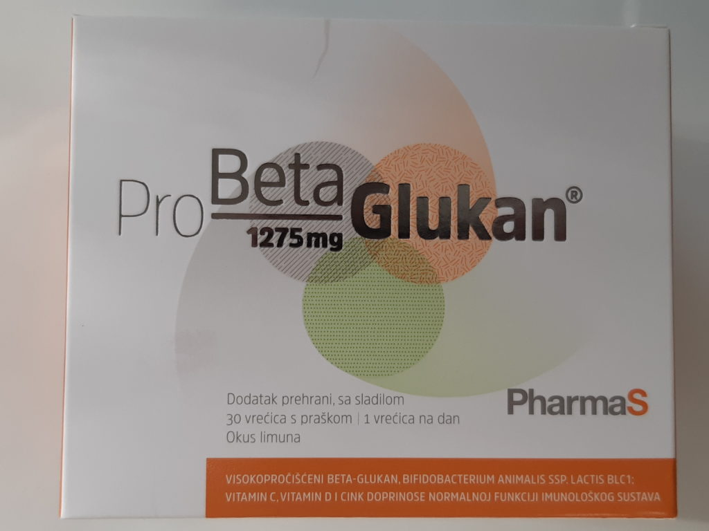 PharmaS Pro Beta Glukan 1275mg