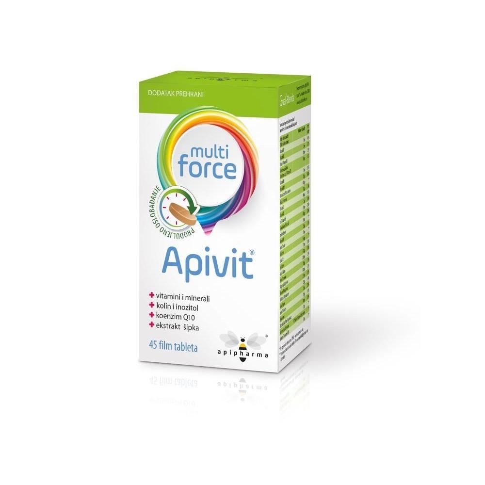 Apipharma Apivit Multiforce tablete