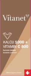 Vitanet Kalcij 1000 + Vitamin C 800