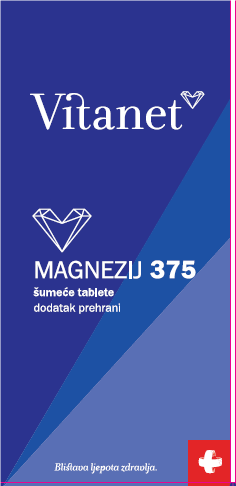 Vitanet Magnezij 375 šumeće tablete