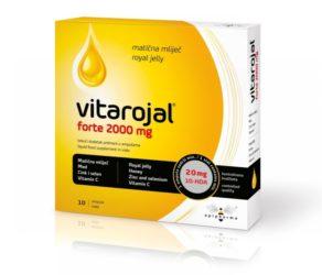 Apipharma Vitarojal forte 2000 mg matična mliječ u ampulama