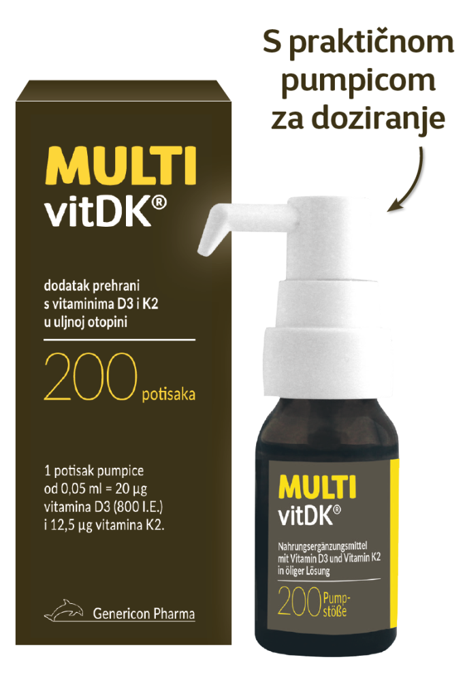 MULTIvitDK uljna otopina 10 ml