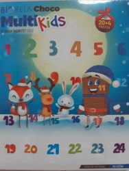 Biorela Choco Multi kids adventski kalendar 24 prutića