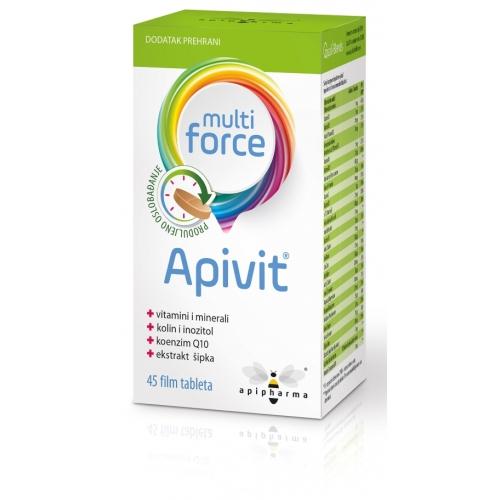 Apipharma Apivit Multi Force film tablete