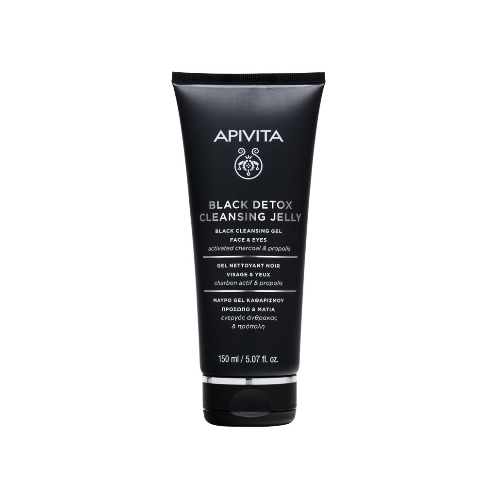 Apivita Crni gel za čišćenje lica