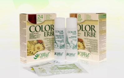 Color Erbe biljna boja za kosu