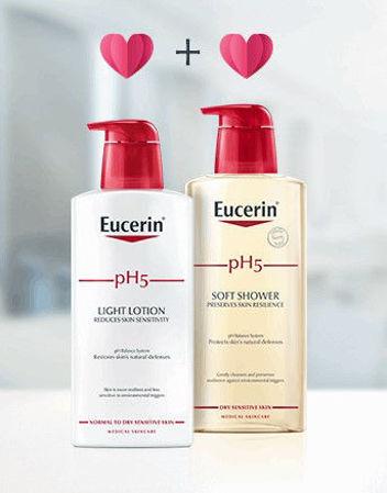 Eucerin pH5 Light losion Eucerin pH5 Soft gel
