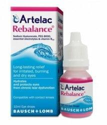 Artelac Rebalance kapi za oči 10 ml