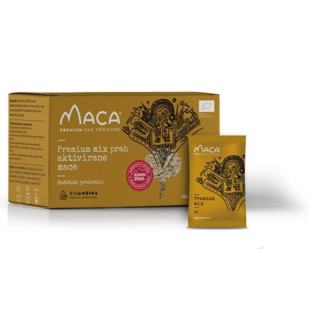 Bioandina Premium MIX aktivirana Maca prah